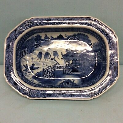 """Chinese Canton Vegetable  Bowl,  9"""" X 12.25"""""""
