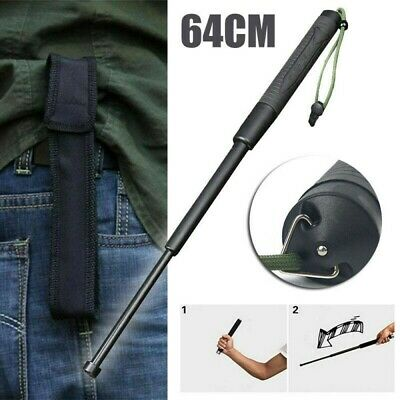 Self Portable Retractable 3 Section Telescopic Sticks Knuckle Multi Tool