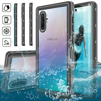 For Samsung Galaxy Note 10 Plus 5G/S10 Waterproof Case Built-in Screen Protector