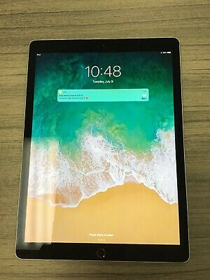"""12.9"""" 2nd Gen Apple iPad Pro 256GB WiFi Only Space Gray Used"""