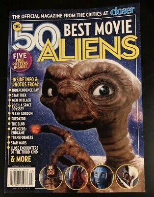 Closer Collectors Magazine: THE 50 BEST MOVIE ALIENS Brand New 2019 Special