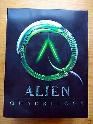 ALIEN QUADRILOGY DVDs, Extras & PROMETHEUS Blu-ray & DVD,  5 total movies