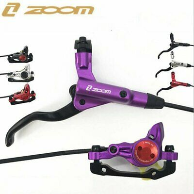 ZOOM Hydraulic Bicycle Front / Rear Disc Brake Set MTB Mountain Bike Oil Disc AU