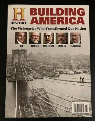History Magazine: BUILDING AMERICA 2019 New Special Edition