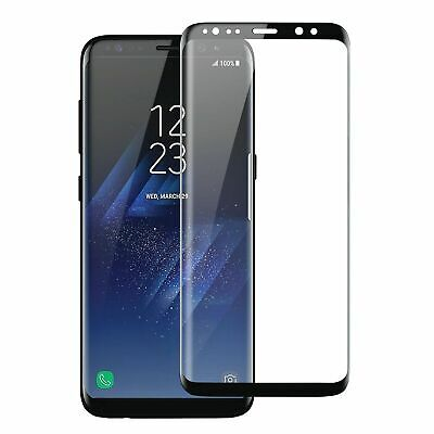 Samsung Galaxy S9 S8 Plus Note 9 8 Screen Protector Tempered Glass CASE FRIENDLY