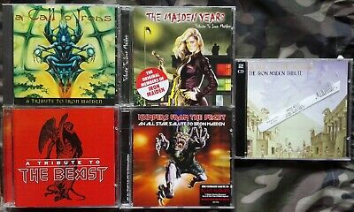 5 Tribute To Iron Maiden : A Call / Slave / Numbers / Years / The Beast 5 Cd