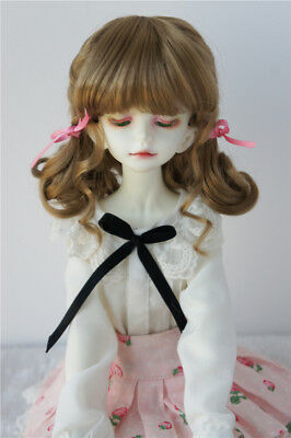 """GINGER BROWN Doll Wig Braids Size 5-6 For 11/"""" Kish Bitty Bethany Debs"""