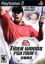 Tiger Woods PGA Tour 2002 Sony PlayStation 2 PS2 Complete CIB VERY Fast Ship!!!