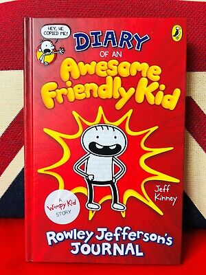 Diary of an Awesome Friendly Kid Rowley Jefferson's Journal (Hardcover 2019) NEW