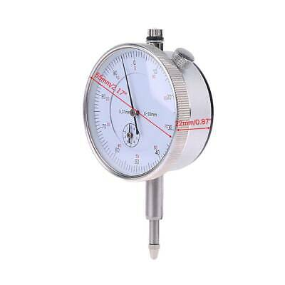 1xNew 0.01mm Accuracy Measurement Instrument Gauge Precision Tool Dial Indicator