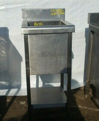Cocktail Bar Station Stainless Steel Bar Equipment  Ice Well  400 X 500 X 300