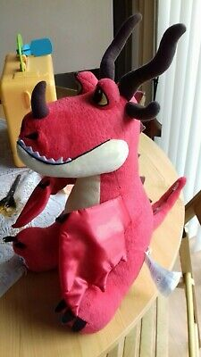 build a bear how to train your dragon red soft toy hookfang