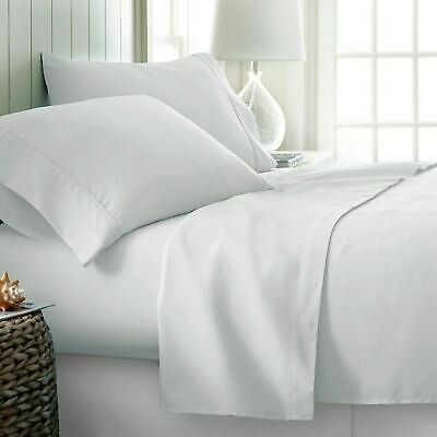 100% Egyptian Cotton 500 Thread Count Bedding Fitted Extra Deep Sheet