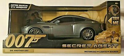 NEW James Bond 50th Anniversary Aston Martin V12 VANQUISH  FREE FAST SHIPPING