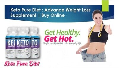 Keto Pure Diet Advanced Weight Loss - (60 Capsules)  Next Day Delivery