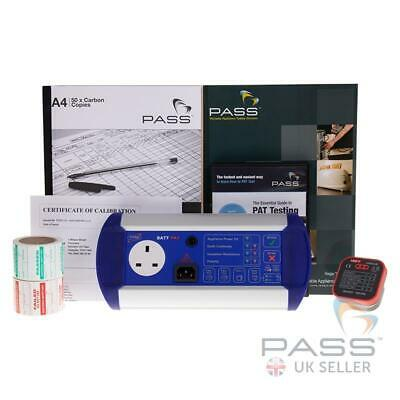 NEW Exclusive First Stop Safety BattPAT PAT Tester Starter Kit Incl Calibration