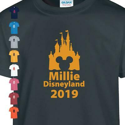 Personalized DISNEY TRIP LAND 2019 Kid TSHIRT IRON SOME LOTS OF vacation  WORLD