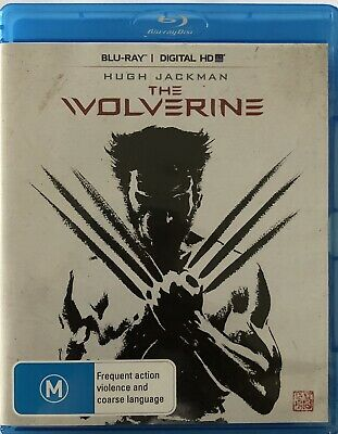 The Wolverine (Blu-Ray) Like NEW Rated M Movie 🍿 Hugh Jackman Region B Action