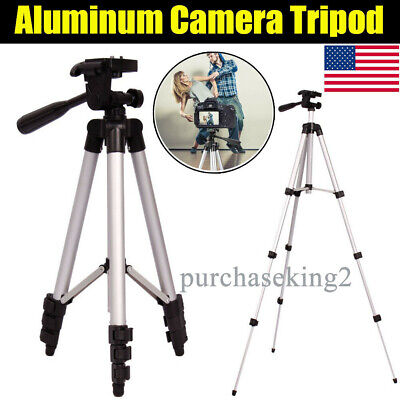 360° Camera Tripod Stand Holder Mount Professional for iPhone/Samsung Cell Phone