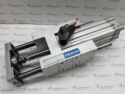 Festo Dnc-40-80-Ppv-A And Feng-40-100-Kf Pneumatic Cylinder