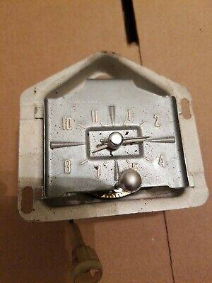 OEM DASH CLOCK 1959 Ford Galaxie Fairlane Skyliner Sunliner  Edsel with bezel