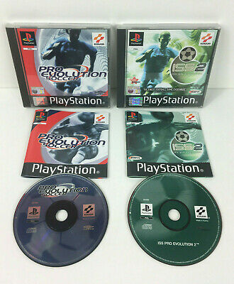 ISS PRO EVOLUTION Soccer PS1 game Sony Playstation COMPLETE