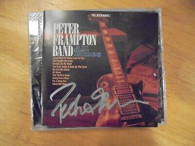Peter Frampton Band Signed Cd All Blues Autographed 2019