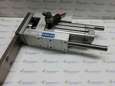 Festo Dnc-40-50Ppv-A And Feng-40-100-Kf Pneumatic Cylinder