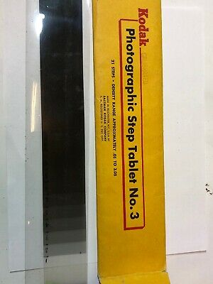Kodak Photographic Step Tablet No.3 - 21 Step Calibrated