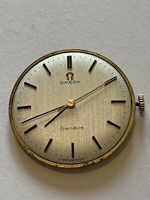 Vintage Gents Omega Cal 601 Wrist Watch Movement Geneve Hand Wind