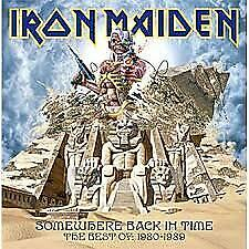 """LP IRON MAIDEN """"SOMEWHERE BACK IN TIME THE BEST OF 1980 1989"""". Nuevo"""