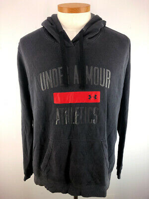 wylot kup tanio dobry UNDER ARMOUR PULLOVER Hoodie Mens Large RN#96510 Black ...