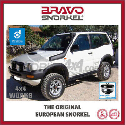 Bravo Snorkel Kit for Nissan Terrano 2 1996-06 + Cyclone Pre-Filter