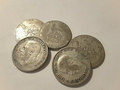 King George V Shilling 1927 Choose your coin