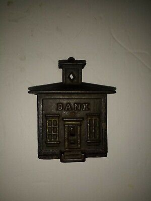 Cast Iron Still Bank Williams