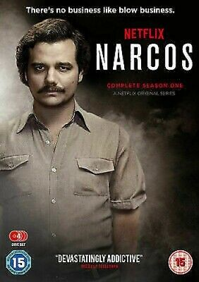 Narcos: The Complete Season One - UK Region 2 DVD - Wagner Moura