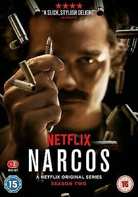 Narcos: The Complete Season Two - UK Region 2 DVD - Wagner Moura