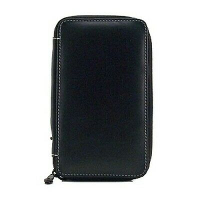 Speedball / Global Art 214240 Leather Black Empty Pencil Case 24 Count