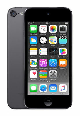 New in Box**Sealed**Apple iPod touch 6th Generation Space Gray (128 GB) (#620A)