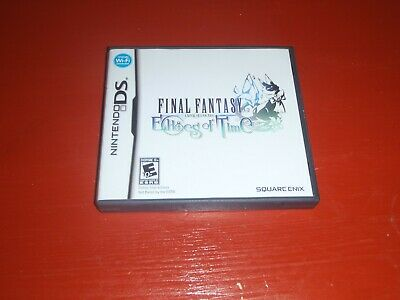Final Fantasy Crystal Chronicles : Echoes of Time (Nintendo Ds) -No Manual