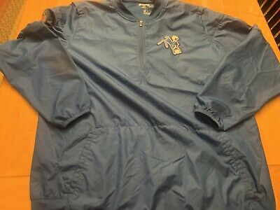 28b1f68ad Nike Dri Fit Indianapolis Colts Mens Size XL Team Issued Sideline Jacket