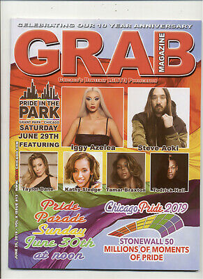 Grab Chicago Magazine Chicago's Biweekly LGBTQ Publication June 25, 2019