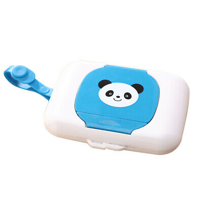 Storage Holder Child Wet Wipes Box Travel Wipe Case Changing Dispenser Baby E9Y7