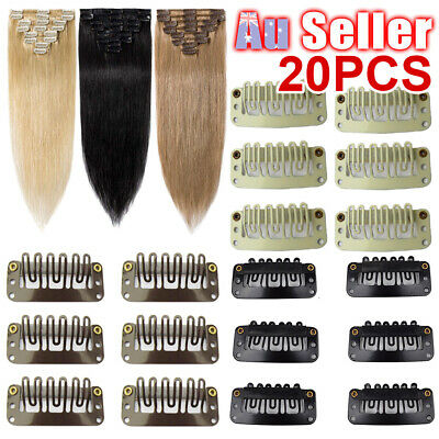 Brand New 20 Hair Extension/Weft Snap Clips 32MM For