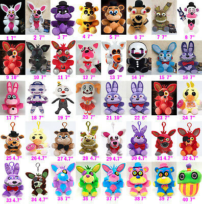 "Kids Plushie Toy Five Nights at Freddy's FNAF Horror Game Plush Doll  4.7"" 7""10"""