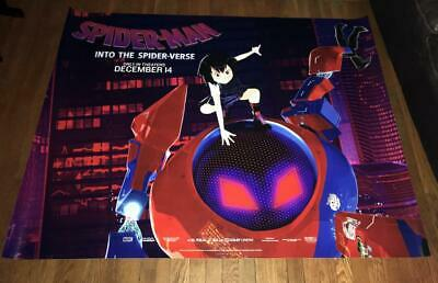 SPIDER-MAN INTO THE SPIDER-VERSE 5FT SUBWAY MOVIE POSTER #5 2018 Peni Parker
