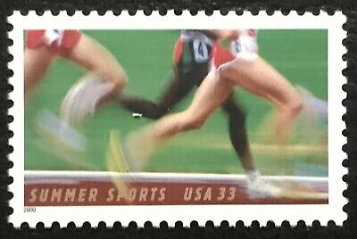 2000 Scott #3397 - 33¢ - SUMMER SPORTS - RUNNER - Single Mint NH