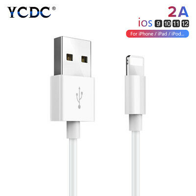 1m 2m 3m Lightning USB Cable Fast Charger Sync Data Cord For iPhone XS X 8 7 6 5