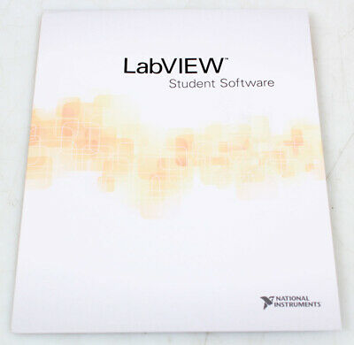 National Instruments NI LabVIEW Software, Student Edition - Perpetual Install