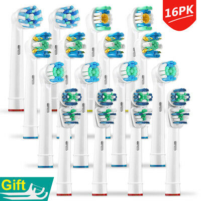 8PK Oral B Tooth Brush Replacement Heads Compatible Braun Electric Toothbrush